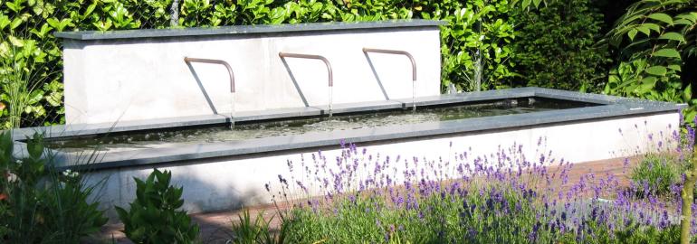 Water en fontijnen