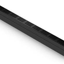 aco slim-line met zwart aluminium rooster 100