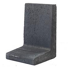 l-element zwart 60x40x40 cm