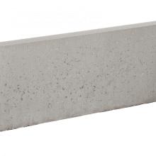 Graskantband ronde kop 5x25x100cm grijs